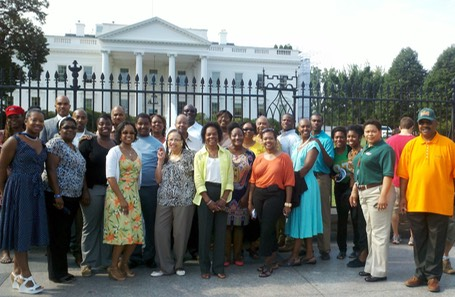 White House Group Photo FAMU NAA DC Chapter_08-11-2012